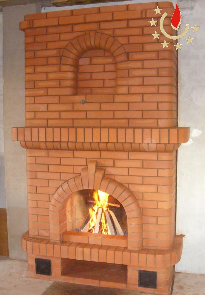 Как сделать печь с камином своими руками 326